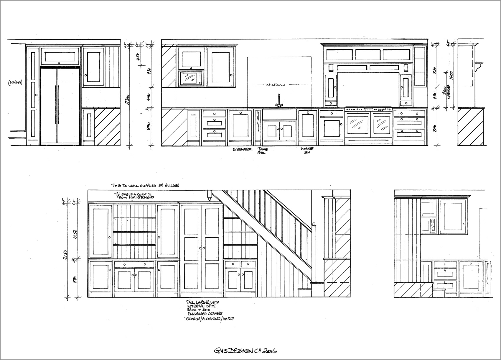 kitchen-drawings-plans