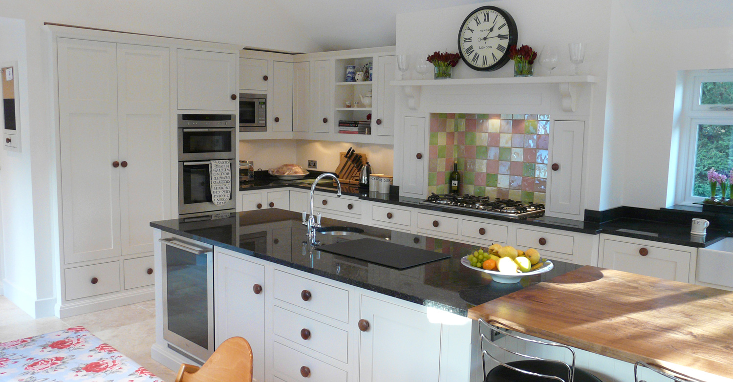 handpainted kitchen design dorset